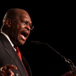 Herman Cain: Who, me?