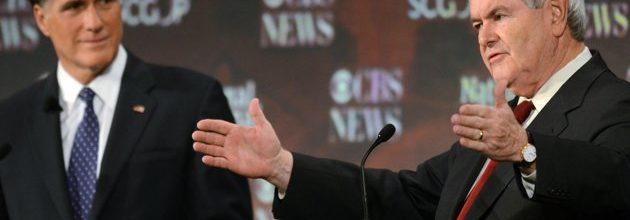 Romney, Gingrich shine in latest GOP debate