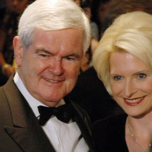 Newt Gingrich and his trophy wife Calista