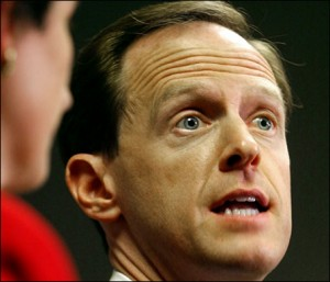 Rep. Pat Toomey: Treading in dangerous waters