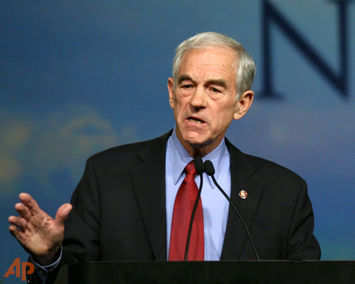 Ron Paul: God wants small government and no Fed