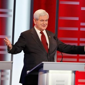Newt Gingrich: Now the clear frontrunner (ABC/Matthew Putney)
