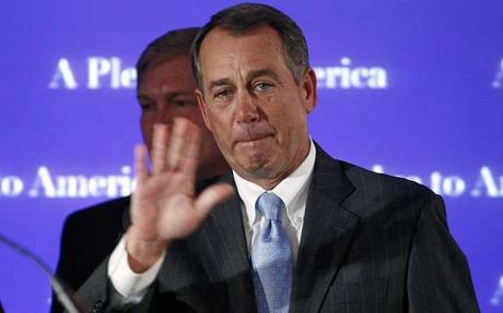 Boehner says 'nada' to tax cut deal