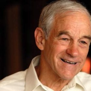 Ron Paul: Who, me?