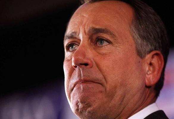 John Boehner: It's crying time again
