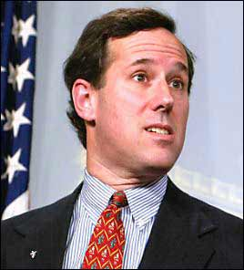 Rich Santorum: Who, me?