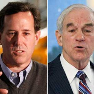 Rick Santorum, Ron Paul: 'Facts? We don't need no stinkin' facts'