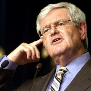 Newt Gingrich: Do what I say, not what I do