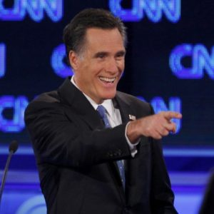 Mitt Romney at Thursday's debate (Reuters)