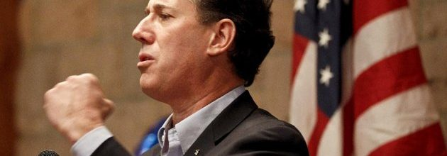 Santorum sweep scrambles GOP primary sweepstakes