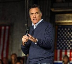 Mitt Romney: One win for the week (Reuters photo)