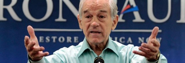 The continuing hypocrisy of Ron Paul and his flock of sheep