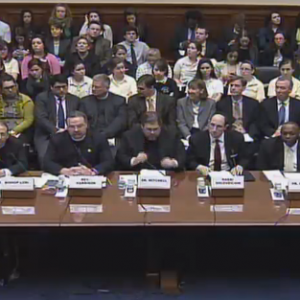 The all-male hearing (Planned Parenthood Photo)