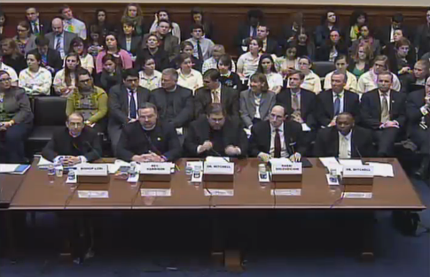 Dems blast male-dominated hearing on contraception