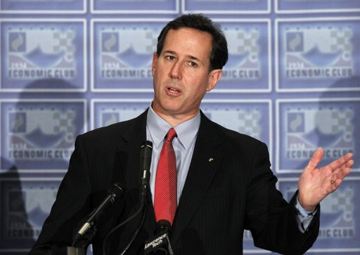 Santorum: Aspirin? We don't need no stinkin' aspirin