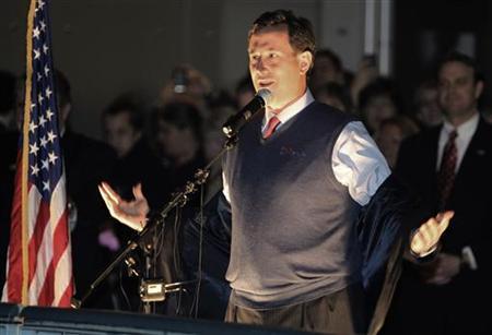 Santorum still winging it