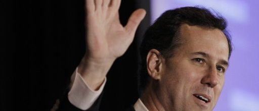 Rick Santorum continues his racist themes