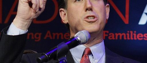 Santorum's handlers struggle to keep him on message