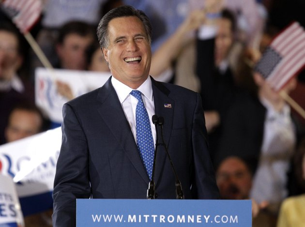 Mitt Romney: Six out of 10 (AP Photo/Stephan Savoia)