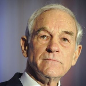 Ron Paul in Fargo, ND (REUTERS/Dave Weaver)