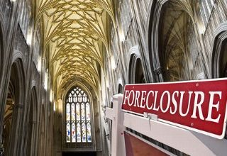 Banks drop the foreclosure hammer on churches