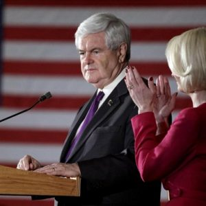 Newt Gingrich: Second place (AP Photo/David Goldman)