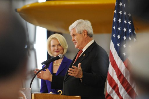 Gingrich vows to 'probably' stay in the Presidential race.