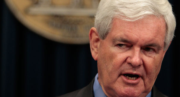 Newt Gingrich:  Spreading the 'elite media' myth