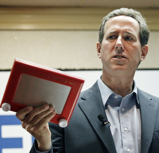 Santorum looking for resurgence in Louisiana
