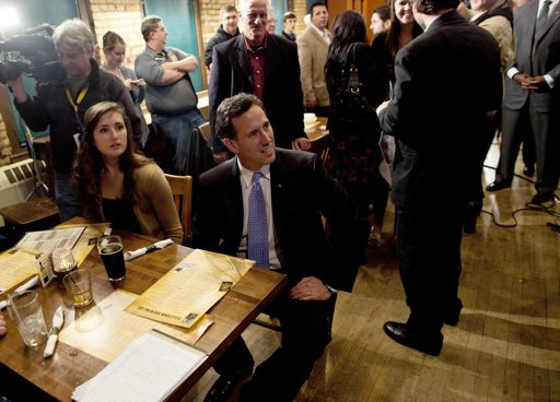 Santorum cruises to expected win in Louisiana