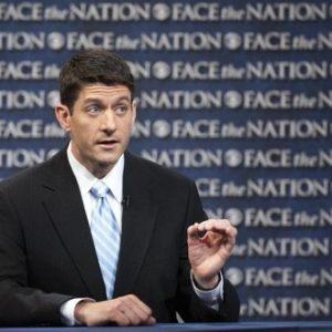 Paul Ryan on 'Face the Nation' (CBS News/Chris Usher)