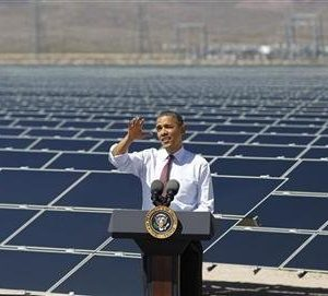 President Obama: More talk than action on green energy (REUTERS/Jason Reed)