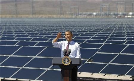 Obama's 'green energy programs' slow to take root