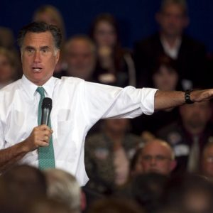 Mitt Romney (AP Photo/Steven Senne)