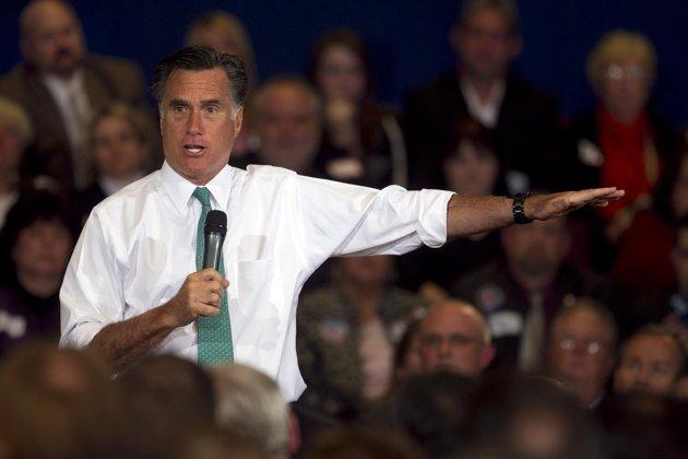 Mitt Romney (AP Photo/Steven Senne)