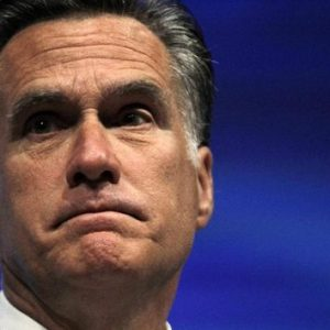 Romney at NRA convention (AP Photo/Michael Conroy)