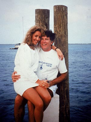 "Donna Rice and Gary Hart on the ""Monkey Business"""