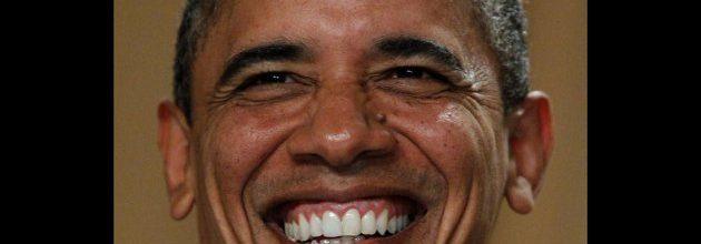 President turns into the joker for correspondents dinner