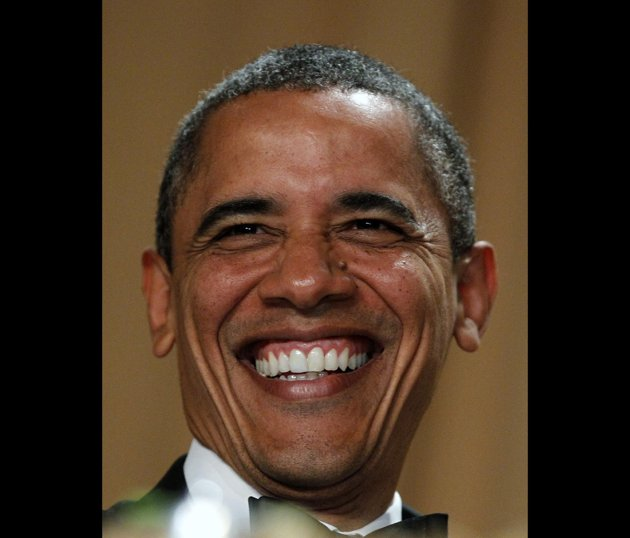 The joker formally known as President Obama (AP Photo/Haraz N. Ghanbari)
