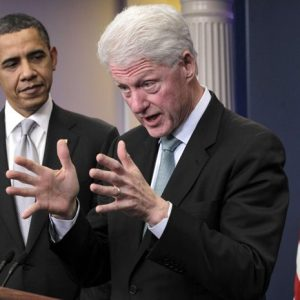 Barack Obama and Bill Clinton (AP Photo/J. Scott Applewhite)