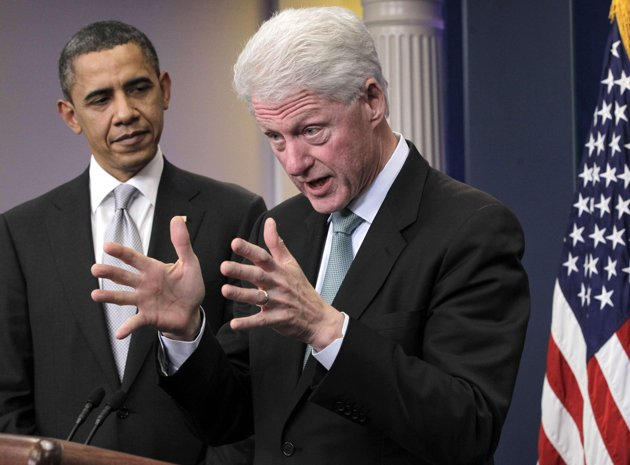 Four years later, Clintons & Obama are political soul-mates
