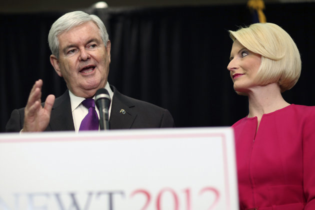 Gingrich joins the ranks of other GOP Presidential has-beens