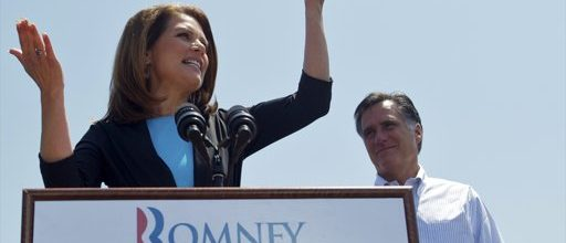 Romney picks up endorsement from Bachmann:  Santorum next?