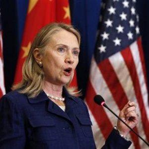 Secretary of State Hillary Rodham Clinton (SHANNON STAPLETON/Reuters)