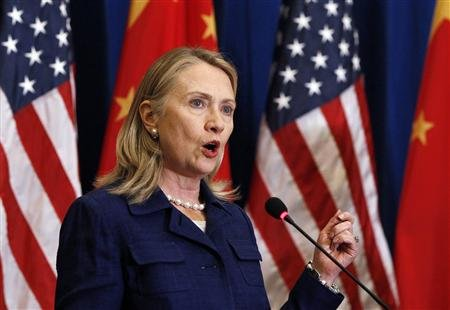Secretary of State Hillary Rodham Clinton (SHANNON STAPLETON/Reuters)