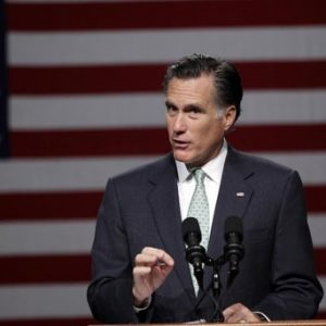 Mitt Romney: The GOP nomination is looming (AP Photo/Carlos Osorio)