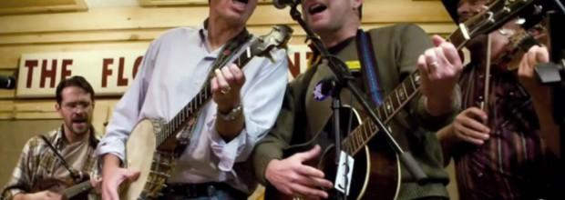 Mixing bluegrass music and politics