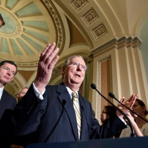 Sen. Mitch McConnell: Why legislate when you can obfuscate? (AP Photo/J. Scott Applewhite)