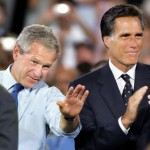 Romney to Bush: 'Don't call us, we'll call you' (AP Photo/Steven Senne, File)