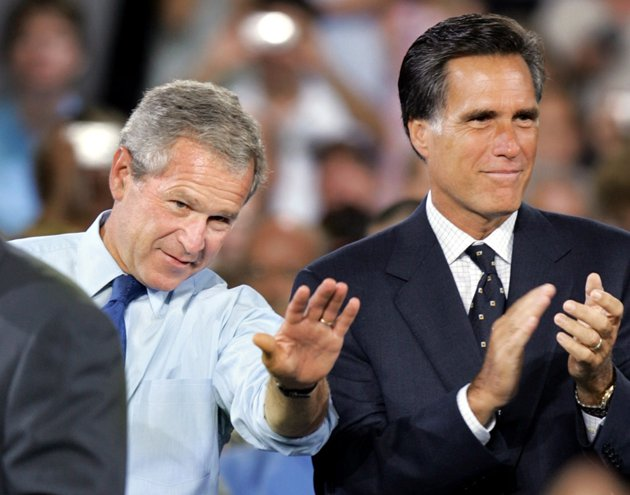 No role for George W. Bush in Mitt Romney's campaign